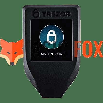 Крипто-кошелек TREZOR model T
