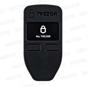 Крипто-кошелек TREZOR black