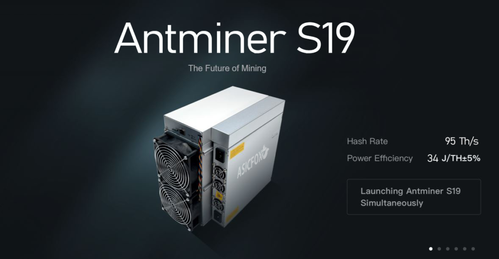 Asic Bitmain Antminer S19 - 90TH \ 95 TH